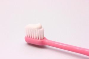 歯磨き粉付歯ブラシ