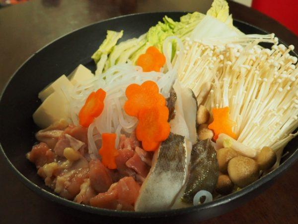 魚と野菜鍋