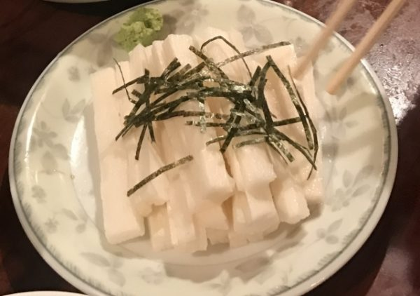 長芋短冊サラダ