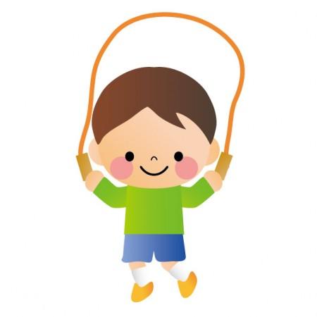 縄跳び子供