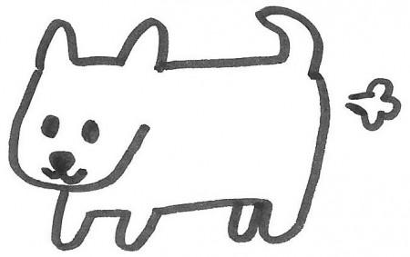 犬のおなら