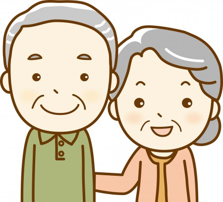 シニア夫婦