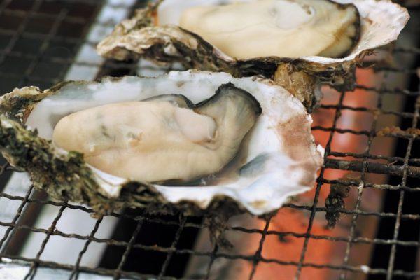 焼き牡蠣アップ