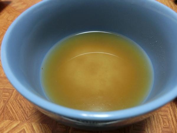 具なし味噌汁