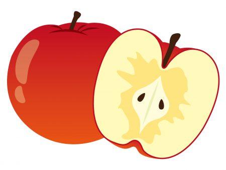 蜜入りんごイラスト