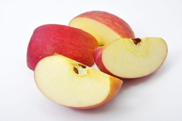 皮付カットりんご